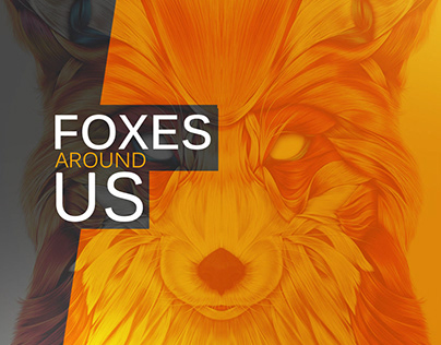 foxes around us