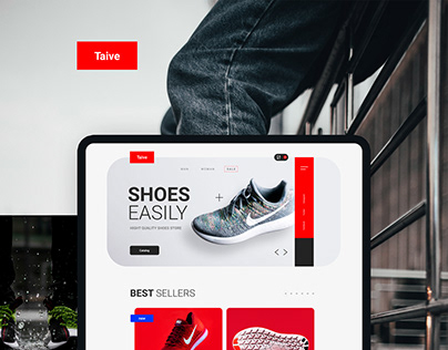TAIVE online store concept.