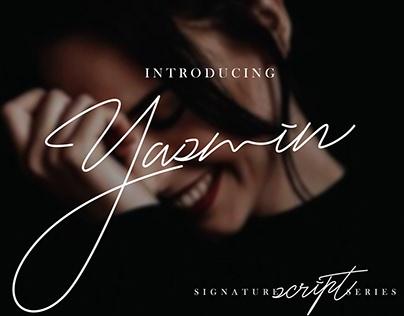 Yasmin - FREE SCRIPT FONT