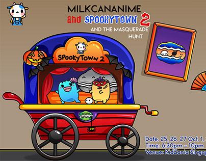 SpookyTown 2 - MILKCANANIME X KidZania Singapore