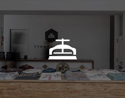 TYPOGRAPHIA tshirts 2013 - 2016