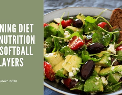 Training Diet and Nutrition for Softball Players