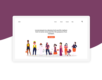 Illustration Web Headers