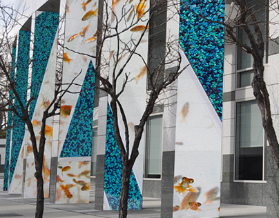 Adobe San Jose lenticular wall project