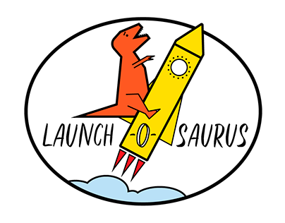 Launch-o-saurus Logo