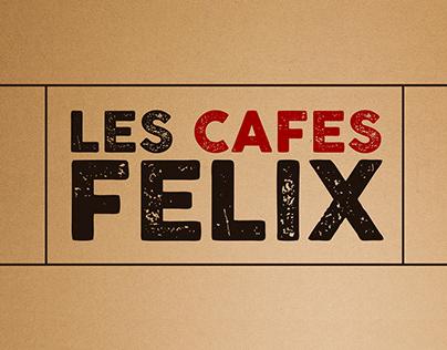 Les Cafés Felix Identité Graphique