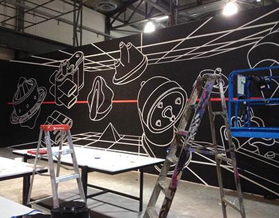 """Event Horizon"" Mural (Behind the Scenes)"