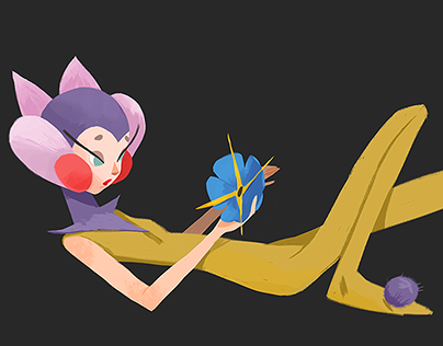 Thumbelina character design