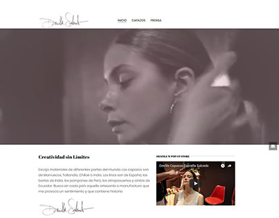 Capazos wordpress website