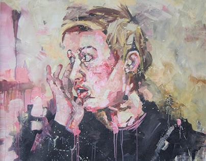 Acrylic paintings, 2015