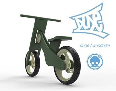 DUDE Balance Wood Bike