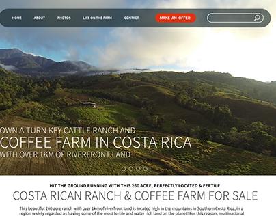 Costa Rica Website [Wordpress]