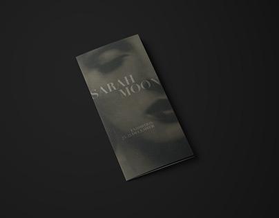 Sarah Moon/Exhibition Brochure