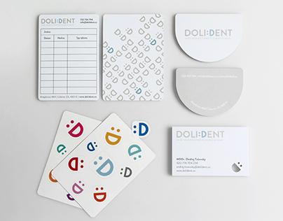 DOLIDENT – vizuální identita