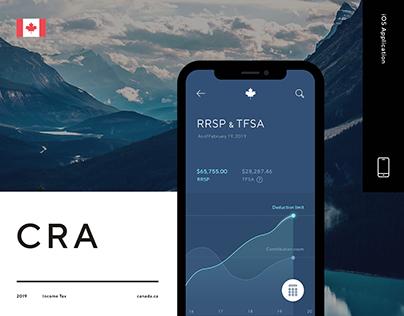 Canada Revenue Agency (CRA) - UX/UI Design