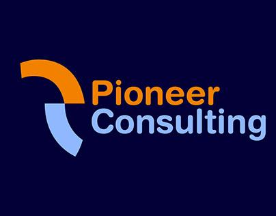 Brand Identity PC Letter Logo