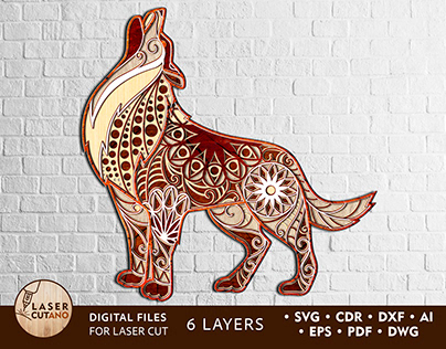 Multilayer Cut File WOLF