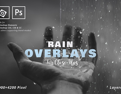 Rain Overlay for Close-Ups