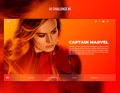 Captain Marvel UI