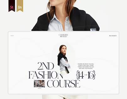 Catherine Joubert — web, brand