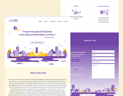 Web Design: The Vine