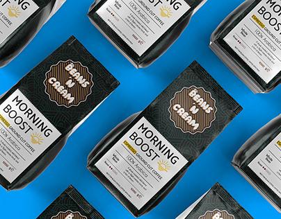 Beans 'N Cream Branding