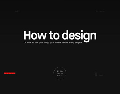 Guide to Better Design Thinking Process