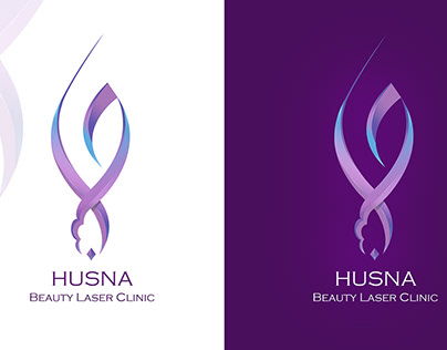 HUSNA- Arabic Calligraphy Logo Design