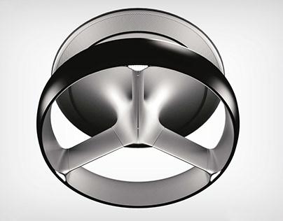 Bladeless Ceiling Fan Concept