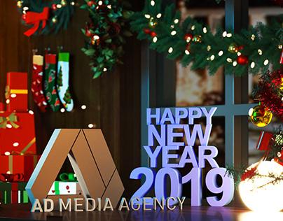 New Year Social Media post