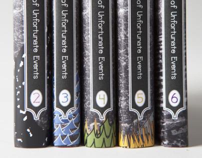 Book Design - Lemony Snicket