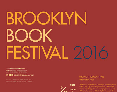 Brooklyn Book Festival Identity
