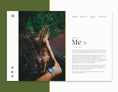 about me page concepts