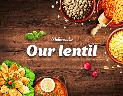 Corporate website   Lentils producer