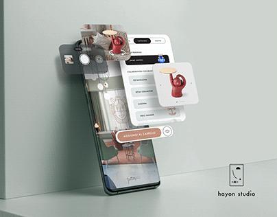 Hayon Studio concept app
