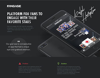 Fangage - Connect fans to celebrities