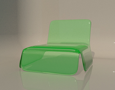 glass seat model... adapted from 2d design