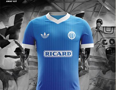 Olympique de Marseille - Custom kit & logo