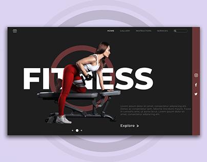 Fitness Gym Web Design
