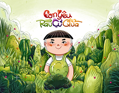 Children's book • I LOVE VEGETABLES