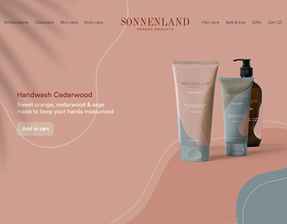 Sonnenland Branding and web design