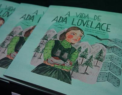 A vida de Ada Lovelace - livro infantil ilustrado