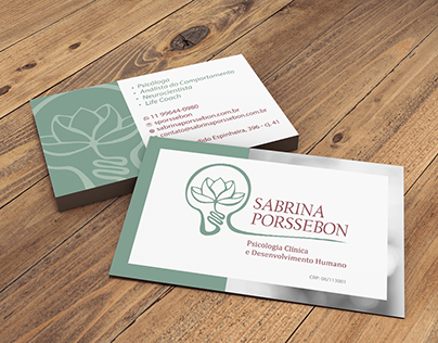 Sabrina Porssebon - Psicologia Clínica e Desenv. Humano