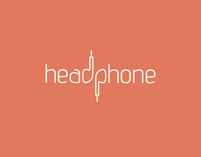 Logo headphone