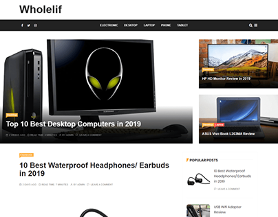 Wholelif Affiliate Website