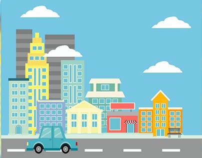Shape City Animation