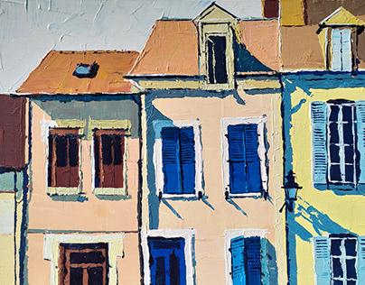 FRANCE / plein air painting