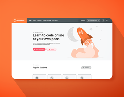 Moonshot E-Learning Website