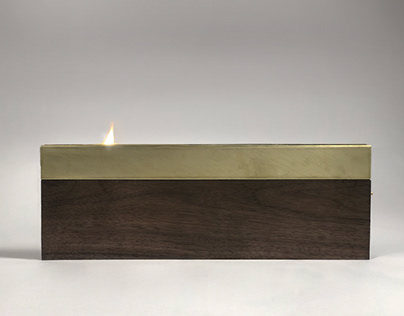 Vertical Candle Holder
