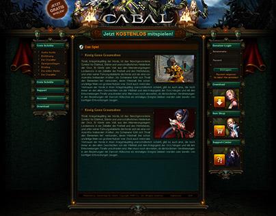 Cabal Community Page - UX / UI Design